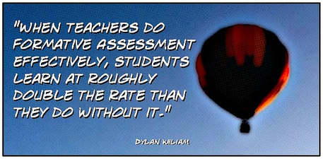 When Teachers Do Formative Assessment Effectively, Students Learn at Roughly Double the Rate They Do Without It